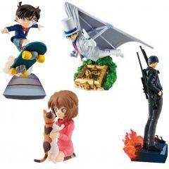 Detective Conan SECRET SCENE BOX Vol. 1 Petitrama Series (Set of 4 Pieces) Mega House