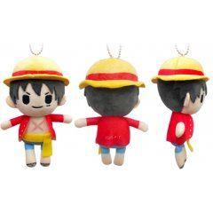 One Piece - Petit Fuwa Plush: Monkey D. Luffy Tapioca Japan pre