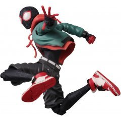 SV Action Spider-Man Into the Spider-Verse Action Figure: Miles Morales Spider-Man (Re-run) Sentinel