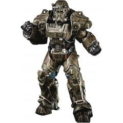 Fallout 1/6 Scale Pre-Painted Action Figure: T-60 Camouflage Power Armor Threezero