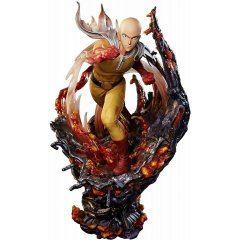 One Punch Man Pre-Painted Figure: Saitama Plex