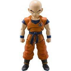 S.H.Figuarts Dragon Ball Z: Krillin Strongest Man on Earth Tamashii (Bandai Toys)