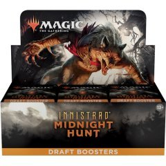 Magic: The Gathering - Innistrad: Midnight Hunt Draft Booster Japanese Ver. (Set of 36 Packs) Wizards of the Coast