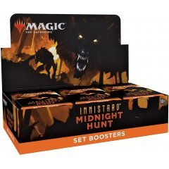 Magic: The Gathering - Innistrad: Midnight Hunt Set Booster Japanese Ver. (Set of 30 Packs) Wizards of the Coast