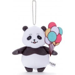 Nitotan Jujutsu Kaisen Ending Casual Wear Plush With Ball Chain Chain Panda TakaraTomy