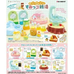 San-x Relaxing Sumikko Bath Time (Set of 8 Pieces) Re-ment