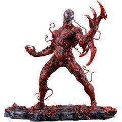 ARTFX+ Marvel Universe Spider-Man 1/10 Scale Pre-Painted Figure: Carnage Renewal Edition Kotobukiya