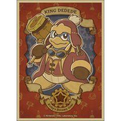 Kirby's Dream Land Character Sleeve: Kirby's Dreamy Gear King Dedede EN-1038 Ensky