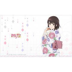 Saekano: How to Raise a Boring Girlfriend Original Illustration Rubber Mat: Megumi Yukata Curtain Damashii