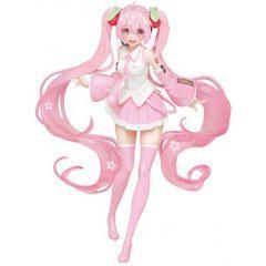 Vocaloid Hatsune Miku Pre-Painted Figure: Sakura Miku Ver. Taito
