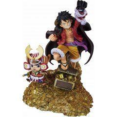 Figuarts Zero One Piece: Monkey D. Luffy WT100 Anniversary Eichiro Oda Original Illustration 100 Views of Pirates Tamashii (Bandai Toys)