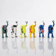 Tiny Mechatro WeGo Box 4 (Set of 6 Pieces) Sentinel