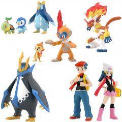 Pokemon: Pokemon Scale World Sinnoh Region (Set of 10 Packs) Bandai Entertainment