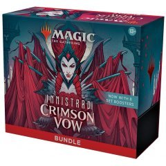 Magic: The Gathering - Innistrad: Crimson Vow Commander Bundle Set English Ver. (Set of 8 Packs)  Wizards of the Coast