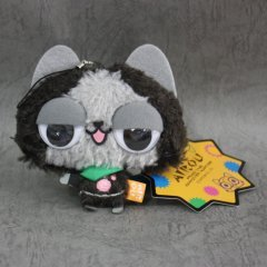 Capcom Monster Hunter Airou Kyoro-Kyoro Mascot Key Ring: Melaleu Capcom