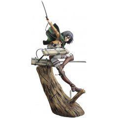 ARTFX J Attack on Titan 1/8 Scale Pre-Painted Figure: Mikasa Ackerman Renewal Package Ver. (Re-run) Kotobukiya