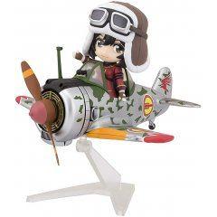 Figuarts Mini Kouya no Kotobuki Hikoutai: Kylie & Hayabusa Type 1 (Kyrie's Custom) Tamashii (Bandai Toys)