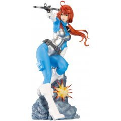 G.I. JOE Bishoujo G.I. Joe: A Real American Hero 1/7 Scale Pre-Painted Figure: Scarlett Sky-Blue Color Limited Edition Kotobukiya