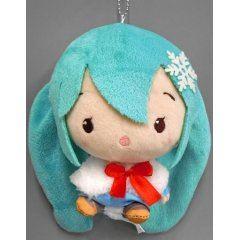 Hatsune Miku Cute Plush Winter Ver. (C) Taito