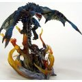 Dynamic Monster Arts Vol. 1 Monster Hunter Pre-Painted Statue Fire Dragon Lioleus (Limited Version)