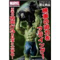 The Incredible Hulk Movie Fine Art Non Scale Pre-Painted Cold Cast Statue: Hulk