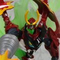 Revoltech Series No. 062 - Gurren Lagann Non Scale Pre-Painted PVC Action Figure: Gurren Lagann