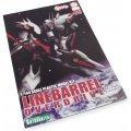 Kurogane no Linebarrels 1/144 Scale Pre-Painted Plastic Model Kit: Linebarrel Over Drive