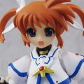 Magical Girl Lyrical Nanoha Striker S Non Scale Pre-Painted PVC Figure: figma Takamachi Nanoha (The Movie 1st Version)