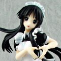 K-ON! 1/8 Scale Pre-Painted PVC Figure: Akiyama Mio (Freeing Version)