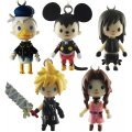 Square Enix Kingdom Hearts Avatar Mascot Phone Strap Vol.3: Cloud (Advent Children Version)