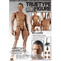 True Type Body - 1/6 Scale Pre-Painted Figure: African American Male (Advanced Ver.)