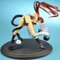 The King of Fighters 1/7 Scale Pre-Painted Cold Cast Figure: Shiranui Mai Black Version