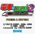 Densha de Go! 2 on Neo Geo Pocket