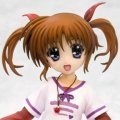 Magical Girl Lyrical Nanoha The Movie 1st 1/8 Scale Pre-Painted  PVC Figure: Nanoha Takamachi Casual Wear Ver.