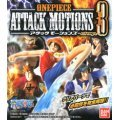 One Piece Attack Motions Chap.3 Pre-Painted Candy Toy