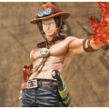 One Piece Figuarts Zero Non Scale Pre-Painted PVC Figure: Portgas D Ace