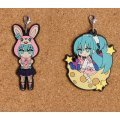 Hobby Stock Character Vocal Series Pikuriru! Hatsune Miku Rubber Strap #06 LOL - Lots Of Laugh