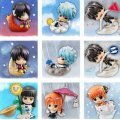 Petit Chara Land Gintama Non Scale Pre-Painted Trading Figure: Ketsuno Announcer's Weather Forecast