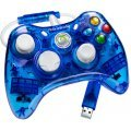 Rock Candy Xbox 360 Wired Controller (Blue)