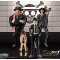 One Piece Super One Piece-Styling Non Scale Pre-Painted Candy Toy: Suit & Dress Style 2 (Set of 8)