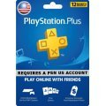 PSN Card 12 Month | PlayStation Plus US digital