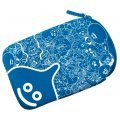 Smile Slime Pouch for 3DS LL (Blue)