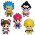 Starget Street Fighter Character Strap (Set of 10 pieces)