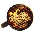 Monster Hunter Wooden Barrel Jug 1L (Dark Brown / Guild Emblem)