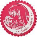Sailor Moon Crystal Acrylic Rubber Coaster (Set of 6 pieces)