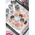 Charm Patisserie Gintama: Gin-san no Cookie Shop (Set of 6 pieces)
