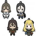 D4 Chaos Dragon Red Dragon Rubber Strap Collection Vol.1 (Set of 8 pieces)