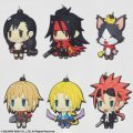 Final Fantasy Trading Rubber Strap Vol. 2 (Set of 6 pieces) (Re-run)