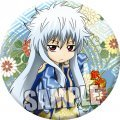Gintama Trading Japanese Style Can Badge (Set of 8 pieces)