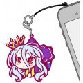 No Game No Life Tsumamare Strap: Shiro